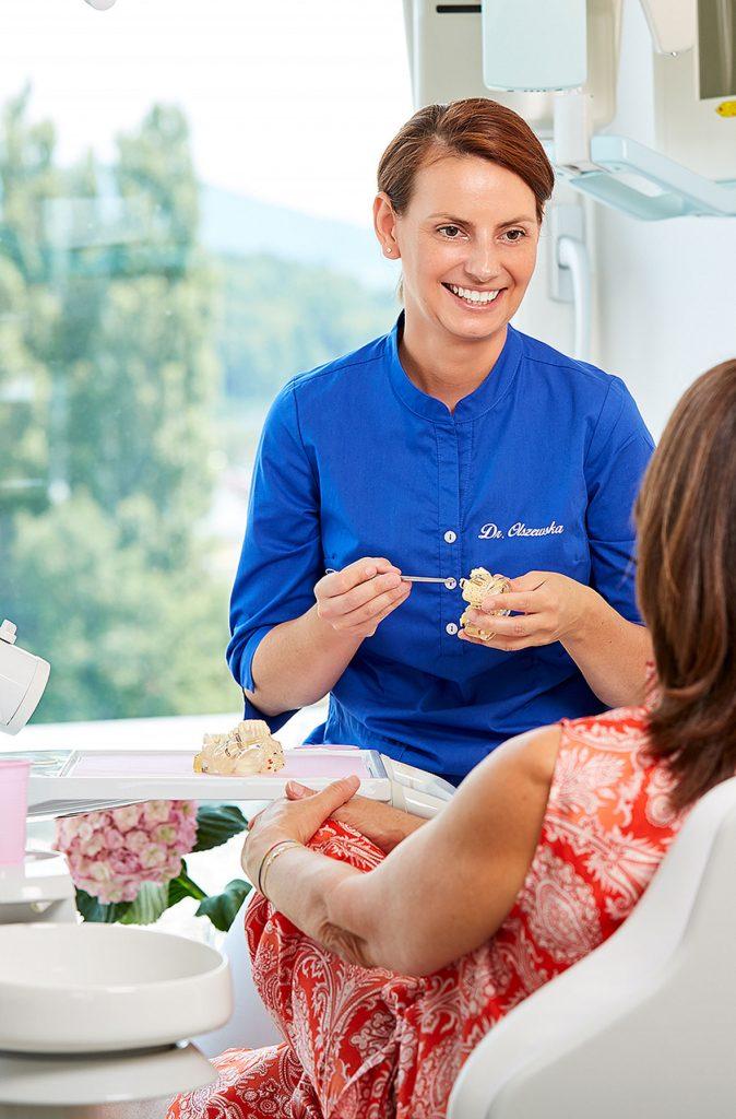 Mundhygienebehandlung Dr. Olszewska Salzburg Zahnarzt